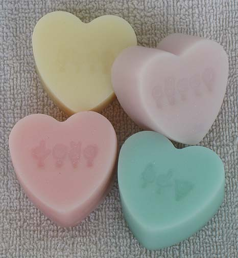 Fingerspelled Love Guest Soaps